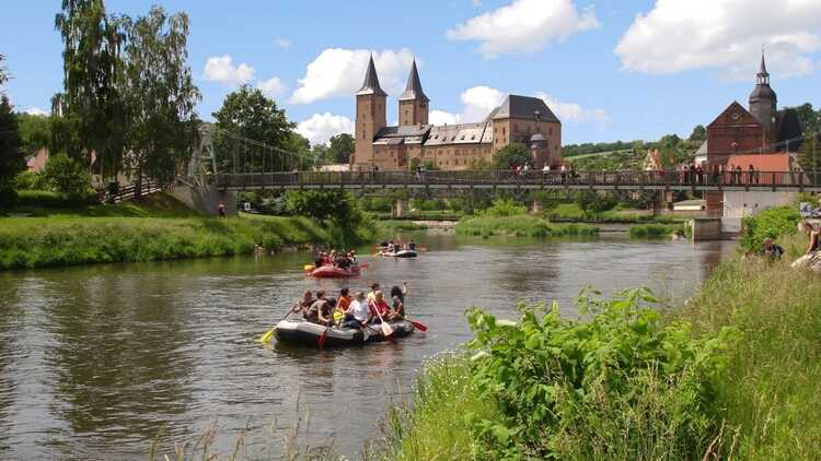 Rafting in Rochlitz - HVV