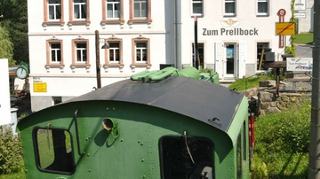 Eisenbahnmuseum Lunzenau - Foto: Jürgen Roß