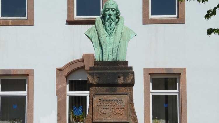 Mathesius-Denkmal - HVV