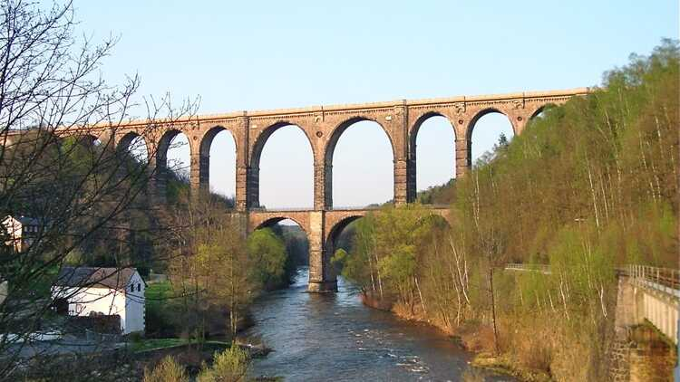 Göhrener Viadukt - Foto: Jürgen Roß