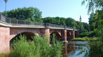 Muldenbrücke Wechselburg - Foto: Jürgen Roß