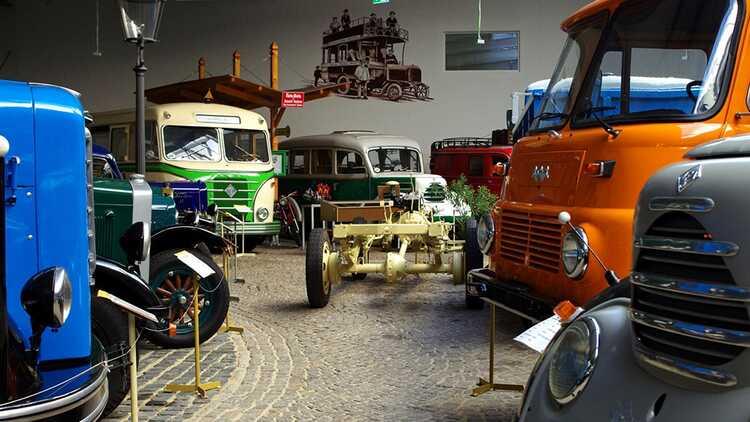 Sächsisches Nutzfahrzeugmuseum - Verein Historische Nutzfahrzeuge Hartmannsdorf e.V.