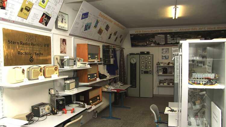 Ausstellung VEB Stern-Radio Rochlitz - Archiv Stadtverwaltung Rochlitz