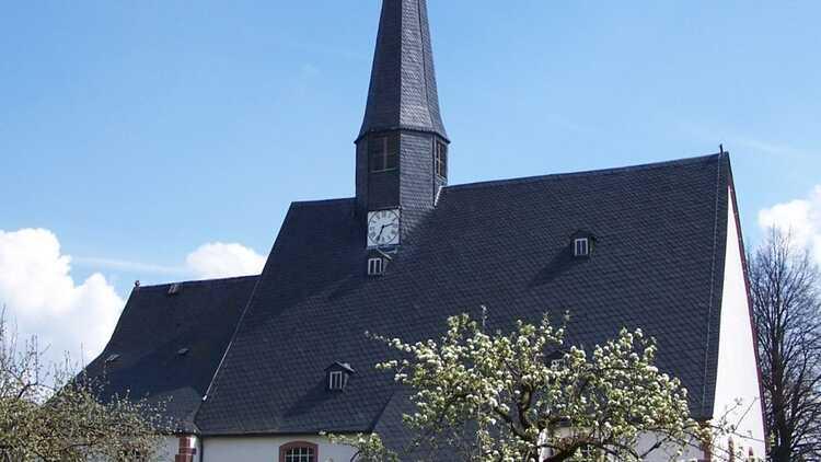 Kirche Claußnitz - HVV