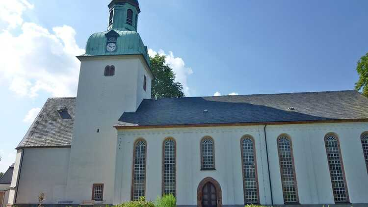 St.Pankratiuskirche Wiederau - HVV