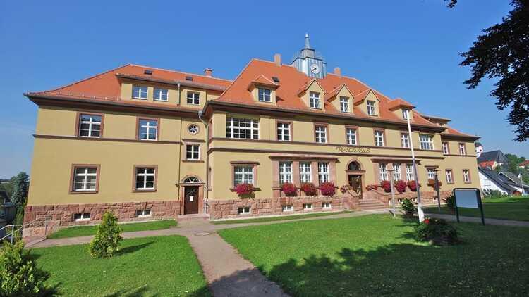Rathaus Wechselburg - P. Georg Roß