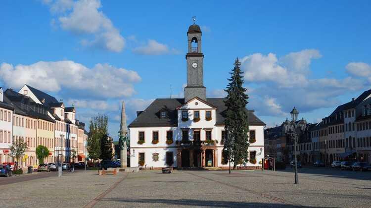 Rathaus Rochlitz - P. Georg Roß