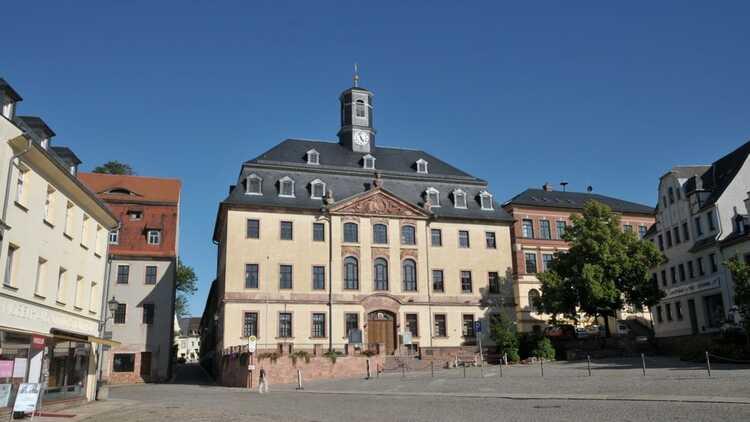 Rathaus Burgstädt - P. Georg Roß