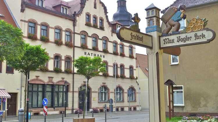 Rathaus Lunzenau - HVV