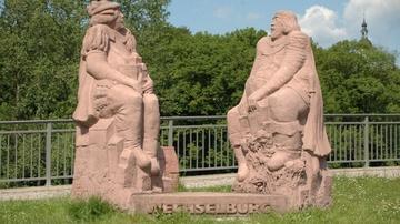 Brückenfiguren Wechselburg - Foto: Jürgen Roß