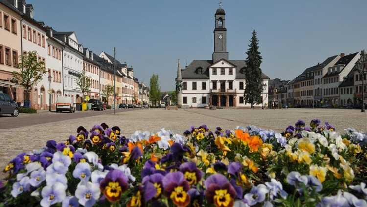 Markt und Rathaus - Foto: Jürgen Roß