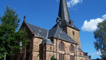 Kirche Schwarzbach - Foto: HVV