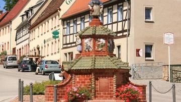 Töpferbrunnen Kohren-Sahlis - Foto: Tourismusverein