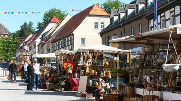 Töpfermarkt Kohren-Sahlis - Foto: Tourismusverein