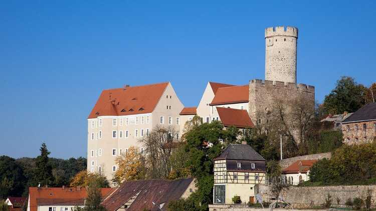Burg Gnandstein - Foto: Jehnich