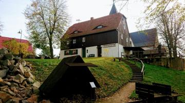 Geoportal Steinarbeiterhaus Hohburg - Foto: Archiv Geopark Porphyrland. Steinreich in Sachsen e.V.
