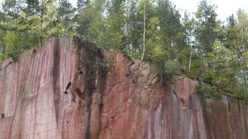 Porphyrsteinbruch auf dem Rochlitzer Berg - Foto: HVV