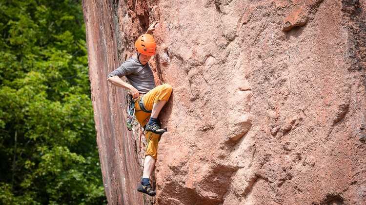 Klettergarten Rochlitzer Berg - Foto: Bianka Behrami