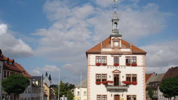 Rathaus Geithain - Foto: Ramona Kratz