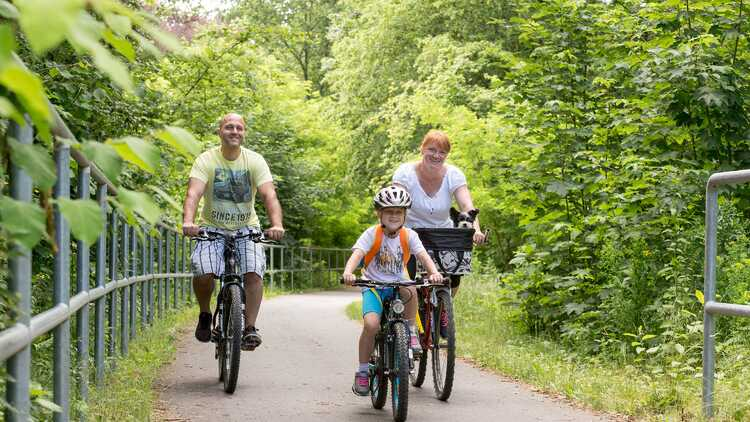Chemnitztalradweg - Foto: BUR-Werbung